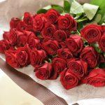 赤いバラの花束(Red Rose)