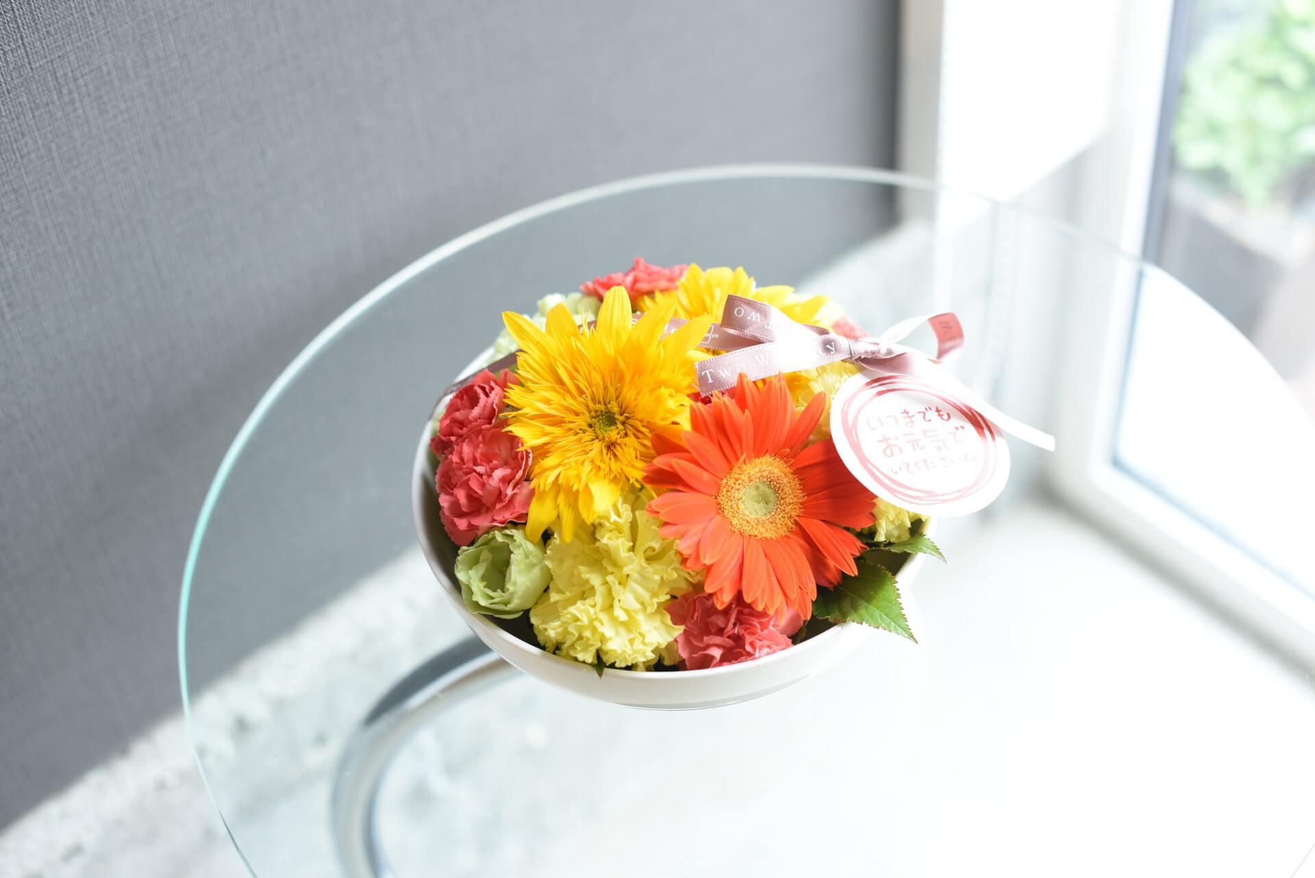 敬老の日用花コロン